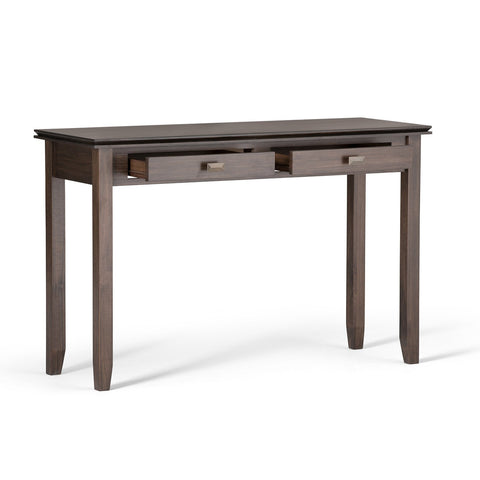 Natural Aged Brown | Artisan 46 inch Console Sofa Table