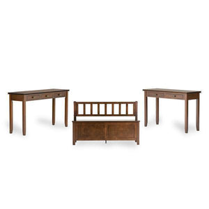 Russet Brown | Artisan Console Sofa Table