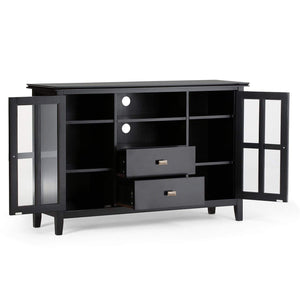 Black | Artisan Tall TV Stand