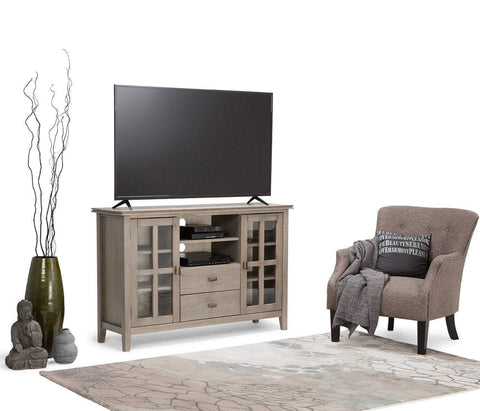 Distressed Grey | Artisan Tall TV Stand
