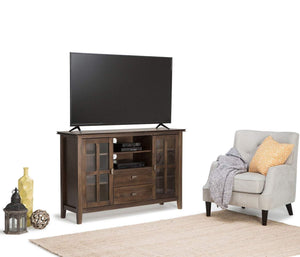 Natural Aged Brown | Artisan Tall TV Stand
