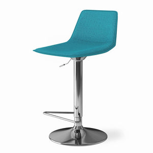 Aqua Blue | Hopkins Adjustable Bar Stool