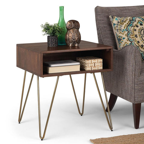 Umber Brown Stain | Hunter End Table