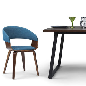 Blue | Lowell Bentwood Dining Chair