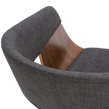 Load image into Gallery viewer, Charcoal Grey | Lowell Bentwood Dining Chair