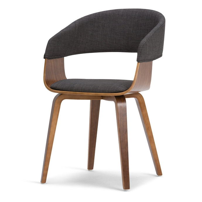 Charcoal Grey | Lowell Bentwood Dining Chair