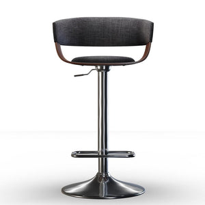 Lowell Adjustable Swivel Bar Stool