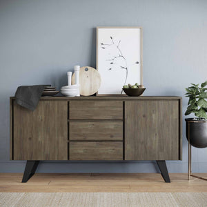 Distressed Grey | Lowry Sideboard Buffet