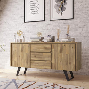 Distressed Golden Wheat | Lowry Sideboard Buffet