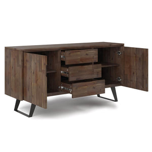 Rustic Natural Aged Brown | Lowry Sideboard Buffet