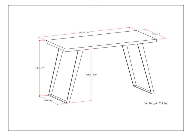 Load image into Gallery viewer, Lowry Flat Top Desk