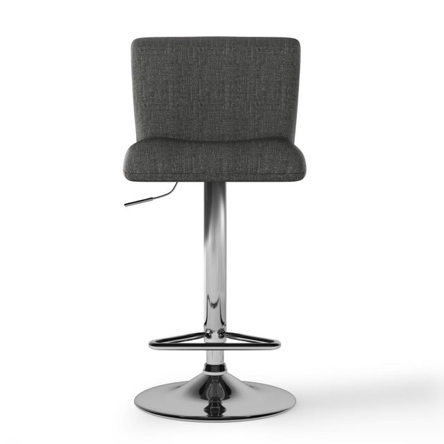 Load image into Gallery viewer, Charcoal Grey | Madox Adjustable Bar Stool