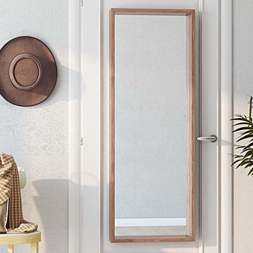 Armand Rectangular Decor Mirror in Natural