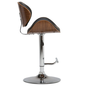 Marana Bentwood Gas Lift Bar Stool