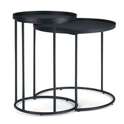 Monet Metal Nesting 2 Pc Table