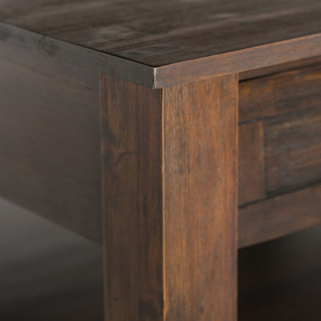 Load image into Gallery viewer, Distressed Charcoal Brown | Monroe Square Coffee Table