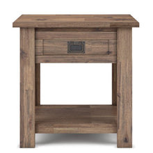 Load image into Gallery viewer, Rustic Natural Aged Brown | Monroe End Side Table