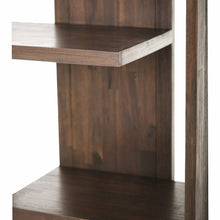 Load image into Gallery viewer, Distressed Charcoal Brown | Monroe Bookcase