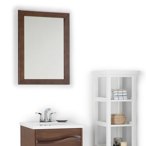 Brown | Marlowe 22 x 30 inch Bath Vanity Decor Mirror