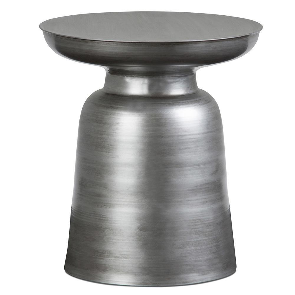 Silver | Toby Metal Accent Table