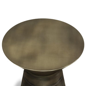 Antique Gold | Sheridan Metal Accent Table