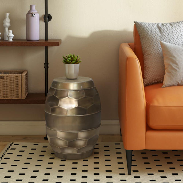 Load image into Gallery viewer, Antique Gold | Reeva Metal Accent Table