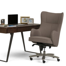 Leeds Wingback Swivel Office Chair