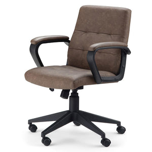 Distressed Brown | Brewer Swivel Office Chair
