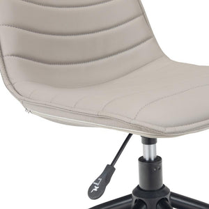 Grey Taupe | Cavett Swivel Office Chair