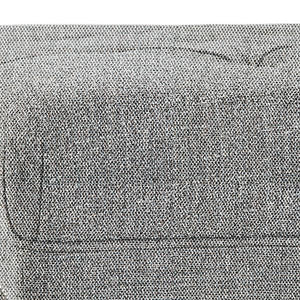 Grey Tweed Tweed Fabric | Marcus Large Square Coffee Table Ottoman