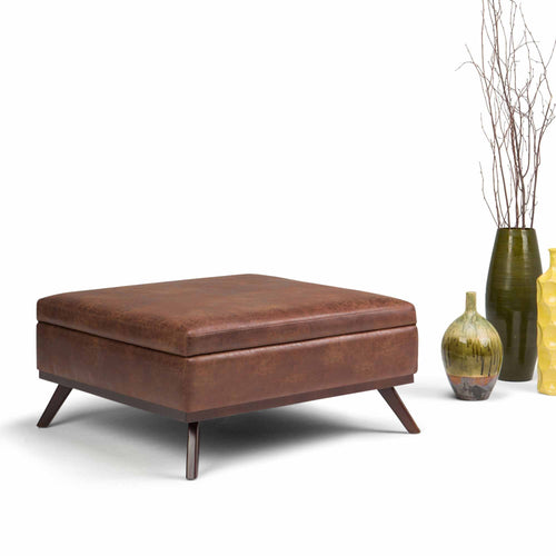 Storage Ottomans Benches Simpli Home