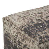 Tilley Patterned Square Pouf