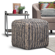 Load image into Gallery viewer, Mullins Cube Pouf