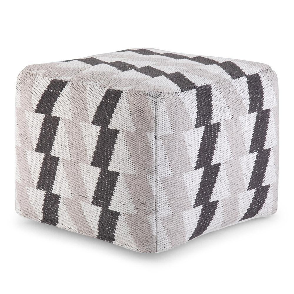 Heath 18 in Wide Square Pouf