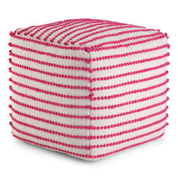 Bradshaw 18 in Wide Square Pouf