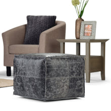 Load image into Gallery viewer, Tremblay Square Pouf