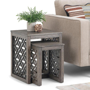 Barnwood Brown |  Polly Nesting 2 pc Table