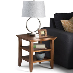 Light Golden Brown | Acadian End Side Table