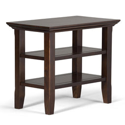 Brunette Brown | Acadian Narrow Side Table