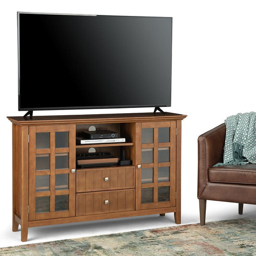 Light Golden Brown | Acadian Tall TV Stand