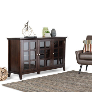 Brunette Brown | Acadian Wide Storage Cabinet