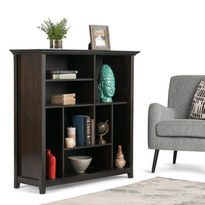 Hickory Brown | Amherst Multi-Cube Bookcase & Storage Unit