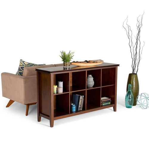 Russet Brown | Artisan 8 Cube Storage / Sofa Table