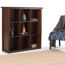 Load image into Gallery viewer, Russet Brown | Artisan Nine Cube Bookcase & Storage