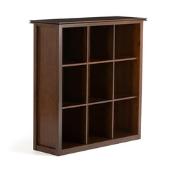 Russet Brown | Artisan Nine Cube Bookcase & Storage