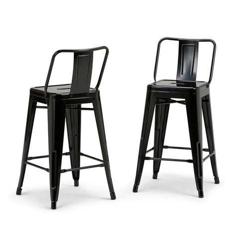 Rayne 24 inch Metal Counter Height Stool