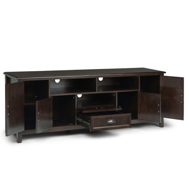 Load image into Gallery viewer, Mahogany Brown | Burlington 72 inch TV Media Stand