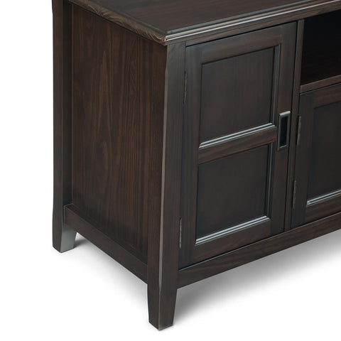 Mahogany Brown | Burlington 72 inch TV Media Stand