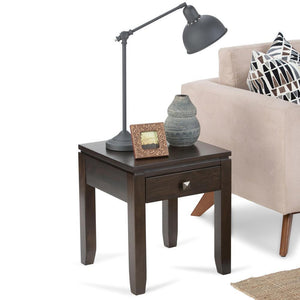 Mahogany Brown | Cosmopolitan End Side Table