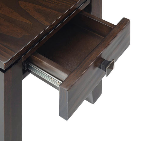 Mahogany Brown | Cosmopolitan Narrow Side Table